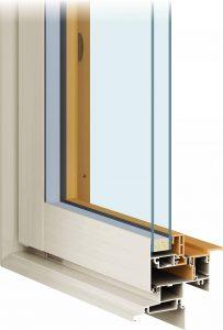 窓のリフォーム 高断熱アルミ樹脂複合サッシ APW310