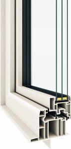 窓のリフォーム 高断熱トリプルガラス樹脂サッシ APW430